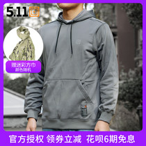 5 11 72395 tactical hooded long-sleeved sweater 511 spring and autumn outdoor leisure jacket military fans warm jacket
