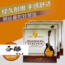 M221 Mandolin Mandolin String Mandellin String Eight String Set Of Eight New.