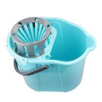 Wash mop bucket rectangular household twist bucket free hand wash single barrel bathroom twist dry manual squeezing water cleaning bucket
