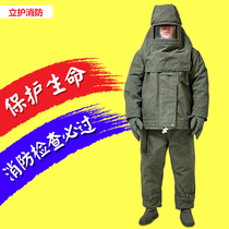 Firefighters avoid Fire Service Fire Rescue Service thickened high temperature resistant clothing anti-hot clothing steel service metallurgy high temperature protective clothing