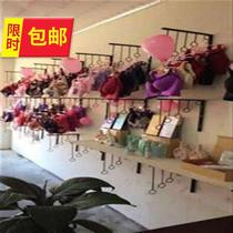 On the shorts hanger J bra rack clothing store wall hook show underwear shelf underwear wall underwear chest.
