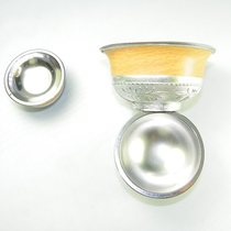 Inner Mongolia handicraft Silver bowl souvenir sacrifice supplies features into Tetsu Bowl