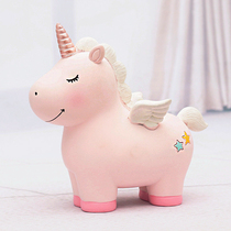 Creative shake tone piggy bank not advisable children savings piggy large capacity cute girl simple modern ins wind