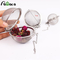 Stainless Steel Locking Spice Mesh Ball Teaer S Infuser