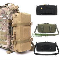 New tactical outdoor multi-utility bag large-capacity storage bag MOLLE accessory bag shoulder bag shoulder bag