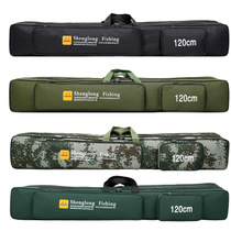 Fishing rod bag bag fishing rod protection bag set copy NET SET anti-scratch cotton bag fishing supplies fishing equipment