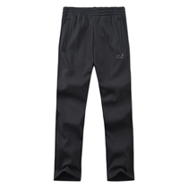 Genuine jackwolfskin Wolf claw fleece pants male outdoor warm casual classic mountaineering pants