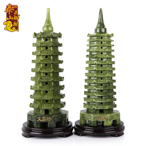 Tianyu GE Kaiguang Nan Yu 13 layer Wenchang Tower ornaments 9 layer 13 layer office desk study decoration help