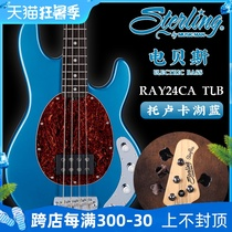 Sterling by Musicman RAY24CA TLB Electric Bass 4 Four String Bass Bass