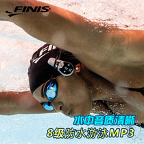 FINIS Finis swimming MP3 bone conduction waterproof earphone underwater DUO bone conduction 4G memory MP3 player