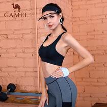 245ce848f486 Camel a sports underwear women fitness vest stereotypes yoga bra running  shock gather no rims bra