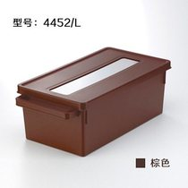 Japan imported storage box DVD disc finishing box large capacity CD storage box ps4 disc box