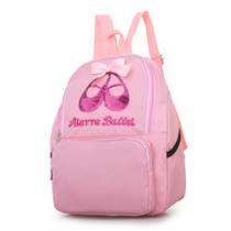 New Dance bag kids Latina dance Backpack girl Ballet dance practice shoe suit bag bag