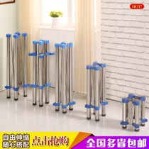 2019 new base table legs folding table legs bracket iron table table feet glass table safety folding rectangular