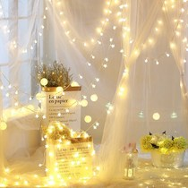 Indoor bedside decorative lights led lights glow plug lights with flash room bedroom small flash lights string lights romantic