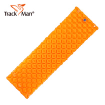 Trackman outdoor inflatable cushion professional single inflatable cushion moisture barrier moisture lightweight egg nest air pad