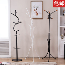 Simple fashion iron coat rack bedroom floor hangers hotel rental housing rack