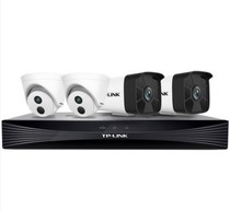 TP-LINK Commercial 2 millions de moniteurs équipement package HD POE camera 6 lumières night vision remote waterproof video recorder large capacity home company