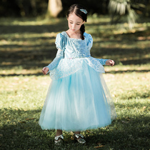 93495bf0d4 Girls Cinderella Cinderella princess dress dress costume costume masquerade  Christmas children s clothing