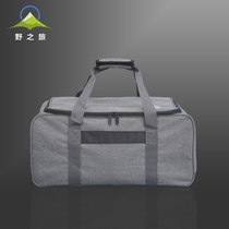 Wild trip outdoor multi-functional storage bag tableware camping cooker portable self-driving equipment large capacity camping bag