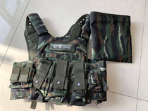 Genuine 16 Tiger Quick Release 13 tactical vest can be upgraded bulletproof vest 16 Wu Xia camouflage CS vest line