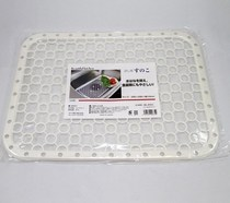 Sink bottom dishwashing gasket home tools drain water-blocking plastic sheet silicone water pad appliance sink