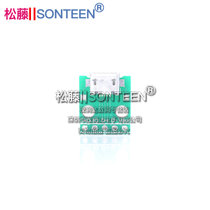 MICRO USB to Dip female B-type Mike 5p SMD turn-line welded female