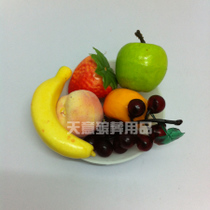 Fruit plate plastic material funeral supplies urn decoration funeral sacrifice supplies wreath men and women shroud