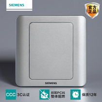 Siemens switch panel Siemens switch socket vision series color silver blank panel whiteboard baffle