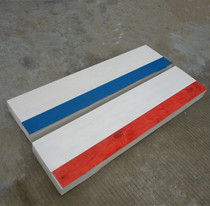 Standard 1 22*0 3*0 1 m plasticine with a base full set of solid wood long jump springboard springboard