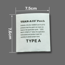 U.S. Tear-Aid pâte amour doudoune GTX punchcoat coupe-vent sac de couchage tente de réparation transparente subvention colle