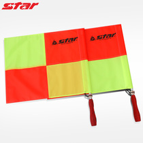 Authentique Star Football Arbitre sidecar drapeau arbitre football patrouilleur drapeau arbitre de commandement