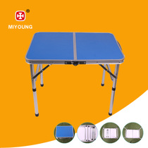 Portable pliant table Outdoor camping tables et chaises bureau dîner table pic-nic pour enfants de table ordinateur table pliante