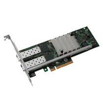 DELL Dell optical fiber card X520 dual port 10 Gigabit PCIe optical network card with SPF optical module