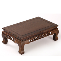Mahogany Kang Table chicken wings wood solid wood kang several floating window table antique carving low table tatami balcony small coffee table