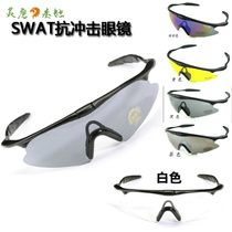 Professional CS riding glasses polarized windproof Sand Mountain Bike Army fan sports goggles bicycle X100 tactical glasses