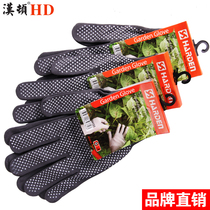 Hamilton labor insurance gloves wear-resistant work thin section rubber thickening home protection construction work to protect garden gardening