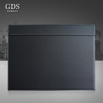 High-grade A3 leather writing board office desk pad folder pad pad Desk Mat business supplies