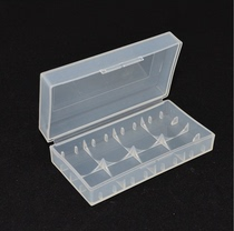 18650 16340 battery storage box plastic box protection Box Storage Box 2-Section battery box durable
