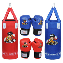 De gants de boxe sacs de sable enfants Conrad set de boxe gants de boxe de bambin sandbag Set Fitness indoor