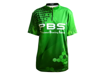2015 new PBS professional bowling sports bowling shirt jersey play clothes ~ green