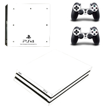 PS4PRO body stickers PS4 scratch waterproof düstproof animation color map PS4pro electrostatic stickers send rocker cap 31