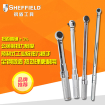 Steel shield tool all-steel pre-adjustable torque wrench male digital display torque torque wrench kg fixed torque