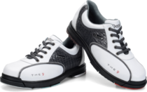 2016DEXTER new bowling shoes special shoes menS shoes Dexter King The9 generation of simple with black and white