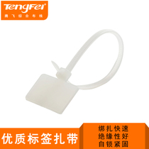 Tengfei Cable storage with wire label signage strap Network strap Mark Sign Strap 100 pcs