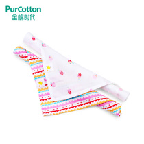 Cotton Age baby cotton gauze triangle towel newborn baby spit Towel bib Breathable handkerchief 2