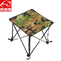 Widiry Outdoor pliant table léger hardcore portable lampe de table pliante table barbecue camping de décrochage