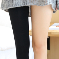 Japanese pressure pants bottoming socks spring and autumn pantyhose female thick autumn and winter velvet stockings wear thin legs