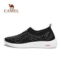 (2019)camel outdoor casual mens shoes summer breathable mesh cushioning hiking hiking shoes foot shoes