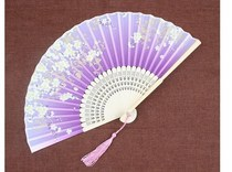 Cute Japanese-style childrens mini folding fan Chinese style ancient summer students men and women portable folding small fan